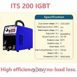200A IGBT DC Inverter Multi-Process Welding Machine Arc TIG Argone Welder IN US