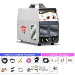 220V 3IN1 Plasma Cutter TIG MMA Welder Argon Arc Welding Machine With Accessories