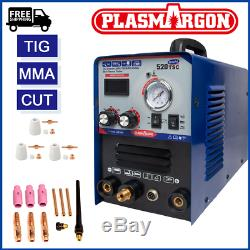 3 IN 1 Plasma Tig MMA Stick Welding Machine Display Combo Welder Machine