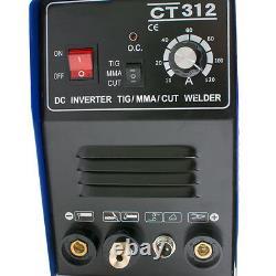 3 In 1 Plasma Cutter TIG MMA Welder Cutting Welding Machine CT-312 + Accessories