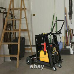 3-Tier Welding Cart Plasma Cutter Welder MIG TIG ARC Universal withTank Storage US