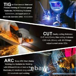 3-in-1 50A/200A CT520 Plasma Cutter TIG ARC STICK MMA Welder Welding Machine