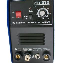3 in1 TIG/MMA/CUT Plasma Cutter Welder Welding Machine DC Interver 110V US STOCK