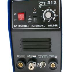 3IN1 TIG/MMA Air Plasma Cutter Welder Welding Torch Machine 3 Functions 110V US