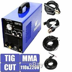 3In1 Multi-function Plasma Cutter MMA TIG Welder Display Welding Machine
