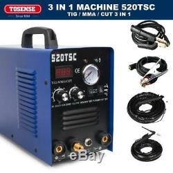 3in1 50A PLASMA CUTTER 200 AMP TIG STICK/ARC WELDER&Torches & 110/220V Hot Sale