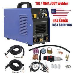 3in1 CT312 TIG MMA CUT Air Plasma Cutter Welder Welding Cutting Machine AC 110V