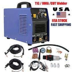 3in1 CT312 TIG MMA CUT DC Interver Plasma Cutter Welder Welding Machine AC 110V