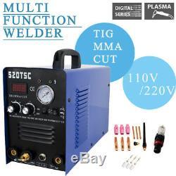 3in1 Multi TIG/MMA/Air Plasma Cutter Cutting Welder Welding Machine 520tsc