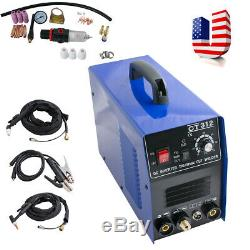 3in1 TIG/MMA Air Plasma Cutter Welder Welding Torch Machine 3 Functions 110v DHL