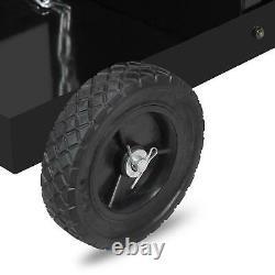 4 Drawer Welding Welder Trolley Cart Plasma Cutter Tank Storage MIG TIG ARC