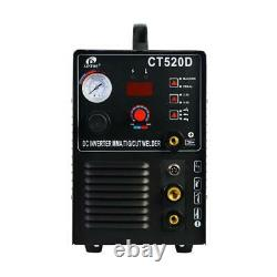 50 Amp Plasma Cutter 200 Amp TIG/Stick Welder 3-in-1 Combo Welding Machine Dual