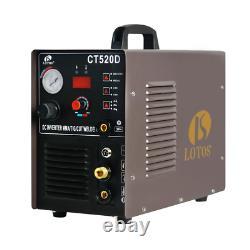 50 Amp Plasma Cutter, 200 Amp Tig/Stick Welder 3-In-1 Combo Welding Machine, Dua