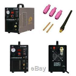 50 Amp Plasma Cutter 200 Amp Tig Stick Welder 3 In 1 Combo Welding Machine Dual
