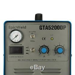 50 Amp Plasma Cutter 200A TIG/Stick Welder 3-in-1 Multifunction Pilot Arc Torch
