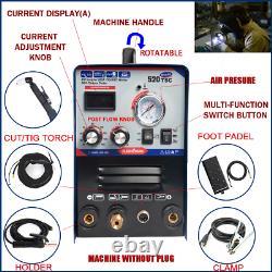 50A Plasma cutter 200Amp tig/mma welder 3in1 welding machine accessories for DIY