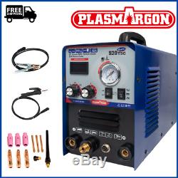 520TSC 50 Amp ARC Plasma Cutter 200 Amp TIG/MIG Stick Welding Machine & Torches