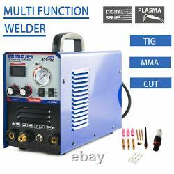 520TSC DC Multifunction 3IN1 MMA/TIG/CUT Plasam Cutter Welder Machine 110/220V