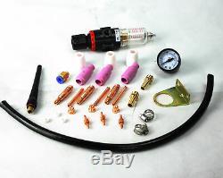 7 in 1 Plasma Cutter IGBT 200A AC/DC Pules TIG/MMA Aluminum Welder
