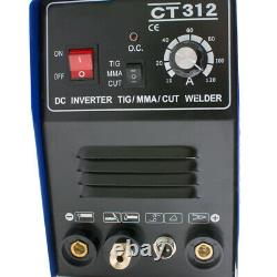 A+TIG/MMA 3in1 Combo Welding Machine HF Scrach Start Arc Plasma Cutter 110V-USA