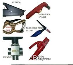 AC DC TIG welder/PLASMA CUTTER/ARC mulit function welder all in one AVORTEC AV7X
