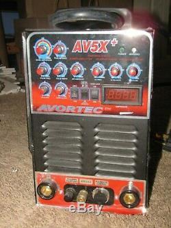 AVORTEC AV5X+ AC/DC TIG Welder / Plasma Cutter