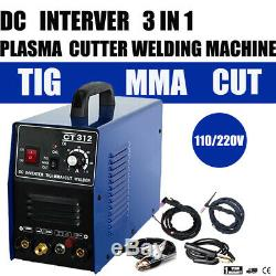 Air Plasma Cutter / MMA / TIG Welder 3 in 1 Machine Pilot ARC Multifunction