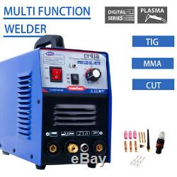 Air Plasma Cutter TIG MMA Welder DC Inverter Cutter Stick 3in1 Welding Machine