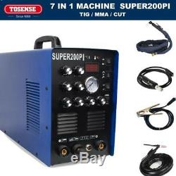 Aluminium Welder 50a Plasma Cutter 200a Acdc Pulse Tig/mma Welding Machine In Us