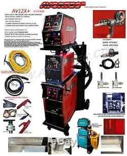 Av12x+ Mig 280 Synergy Single/double Pulse, Plasma Cutter/ac DC Tig/arc/mig Spool