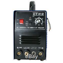 Best Sell TIG/MMA Welder Plasma Cutter 3in1 Welding Machine Cutting CT312 110V