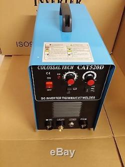 CAT-520D, 50A Plasma Cutter & 200A TIG/ ARC Welder MMA NEW