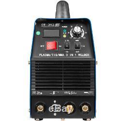 CT-312, TIG/Stick/Plasma Cutter 3-in-1 Combo Welder DC Inverter IGBT 110/220V