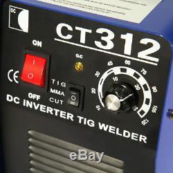 CT312 3IN1 Welding Machine TIG/MMA/Plasma Cutter Welder & PT31 Torches DIY