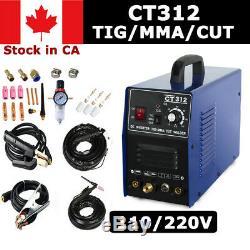 CT312 3in1 TIG/MMA/CUT Multifuntion Plasma Cutter Welding Machine in CA
