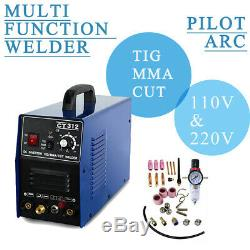 CT312/CT312 Pilot Arc Combination Sales TIG/MMA/CUT Plasma Cutter Welder US SALE