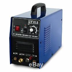 CT312P Pilot ARC Plasma Cutter Machine / MMA / TIG Welder DC Interver 110/220V