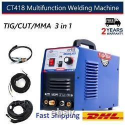 CT418 3 in 1 Plasma Cutter TIG/MMA Welding Machine Welding 110/220V+CSA