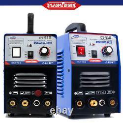 CT418/48P Plasma Cutter 520TSC 50 A /200 A Tig Arc Welder & Pilot Arc 220v DIY