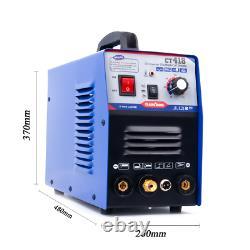 CT418 TIG MMA Cut Plasma Cutter Welder Inverter Stick Welding Machine 3in1 230V