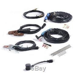 CTS-160, 30A Plasma Cutter, 160A TIG Stick Arc Combo Welder, 110V & 230V Welding