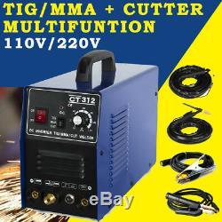 Ct312 110v/220v Tig/mma Welder Plasma Cutter 3in1 Welding Machine & Consumables