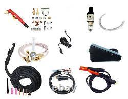 DIGITAL PowerPro 256D 250amp AC/DC TIG STICK PULSE WELDER and 60amp plasma cut