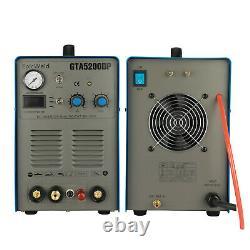 EPICWELD GTA5200DP Pilot Arc Plasma Cutter / 200A Tig / Stick Welder 7D Support