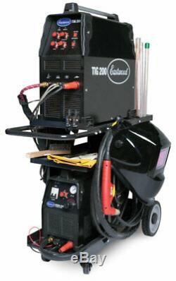 Eastwood MIG TIG Plasma Welder Cart with 350 Lbs Weight Capacity