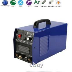 Electric ARC Welding Machine 220v Stick Combo Plasma Cutter TIG DC Argon MMA
