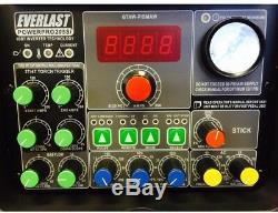 Everlast PowerPro 205S TIG Stick Plasma Welder Electric Power Tool Plasma Cutter
