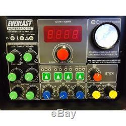 Everlast Welder TIG Stick Plasma Cutter PowerPro 205S All in One Stable Arc