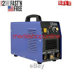 Good CT312 TIG/MMA/Cut 3IN1 Air Plasma Cutter Welder Welding Machine&Torches UPS