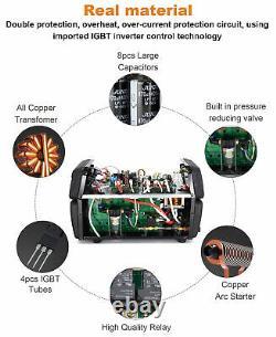 HITBOX 3-in-1 CT520 Plasma Cutter IGBT TIG ARC STICK MMA Welder Welding 220V 40A